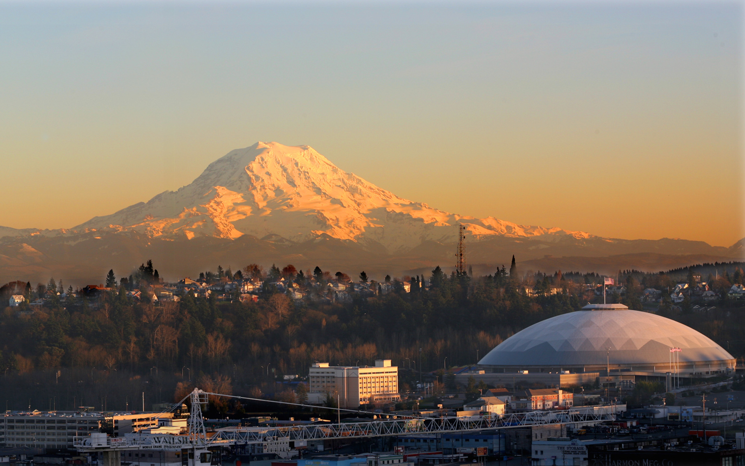 UW Tacoma's view of Rainier