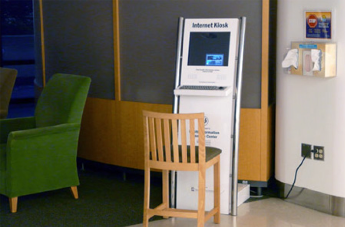 Internet Kiosk at UW Medical Center