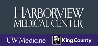 Harborview Medical Center, UW Medicine, King County Logo