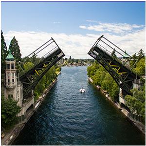 Image of the Montlake bridge