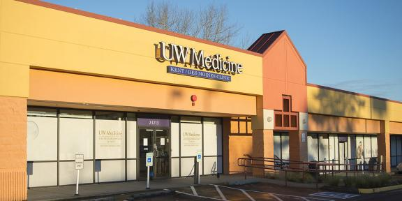 UW Neighborhood Kent-Des Moines Clinic